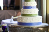 4 tiered cake